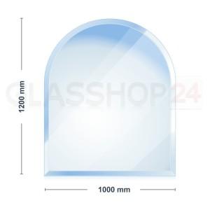 Glasplatte Kaminofen 1